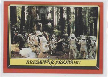 1983 Topps Star Wars: Return of the Jedi #108 - Break for Freedom!