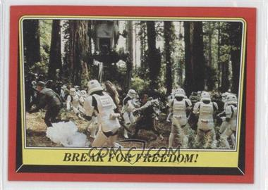 1983 Topps Star Wars: Return of the Jedi #108 - Break for Freedom!