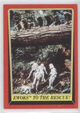 1983 Topps Star Wars: Return of the Jedi #111 - Ewoks to the Rescue!