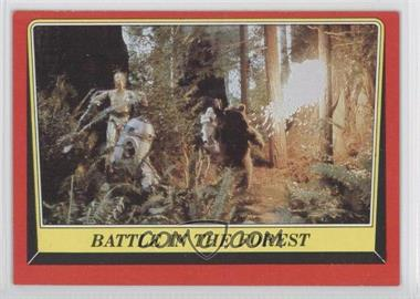 1983 Topps Star Wars: Return of the Jedi #112 - Battle in the Forest