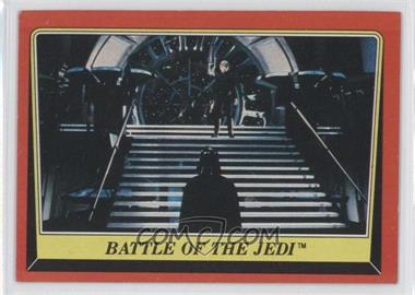 1983 Topps Star Wars: Return of the Jedi #119 - Battle of the Jedi