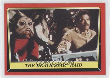 1983 Topps Star Wars: Return of the Jedi #123 - The Death Star Raid