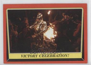 1983 Topps Star Wars: Return of the Jedi #126 - Victory Celebration!