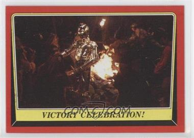 1983 Topps Star Wars: Return of the Jedi #126 - Victory Celebration!