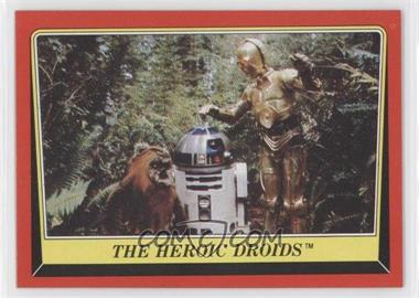 1983 Topps Star Wars: Return of the Jedi #129 - The Heroic Droids