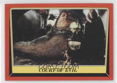 1983 Topps Star Wars: Return of the Jedi #13 - Court of Evil