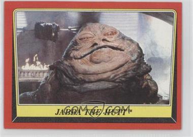 1983 Topps Star Wars: Return of the Jedi #14 - Jabba The Hutt