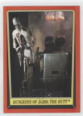 1983 Topps Star Wars: Return of the Jedi #18 - Dungeons of Jabba The Hutt