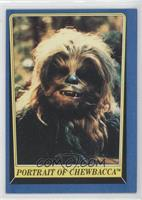 Portrait of Chewbacca
