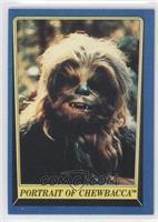 Portrait of Chewbacca