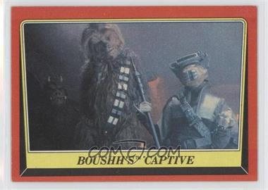 1983 Topps Star Wars: Return of the Jedi #24 - Boushh's Captive