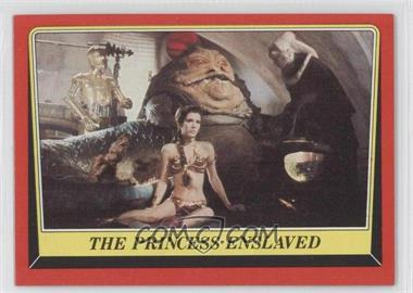 1983 Topps Star Wars: Return of the Jedi #32 - The Princess Enslaved