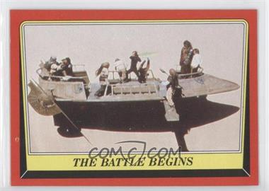 1983 Topps Star Wars: Return of the Jedi #42 - The Battle Begins