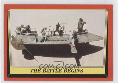 1983 Topps Star Wars: Return of the Jedi #42 - The Battle Begins