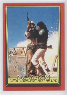 1983 Topps Star Wars: Return of the Jedi #43 - Lando Calrissian's Fight for Life