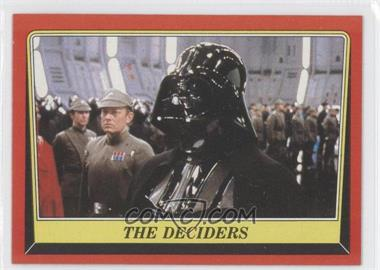 1983 Topps Star Wars: Return of the Jedi #56 - The Deciders