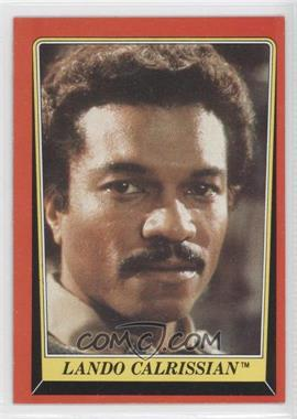 1983 Topps Star Wars: Return of the Jedi #6 - Lando Calrissian