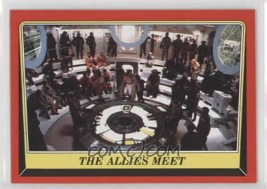 1983 Topps Star Wars: Return of the Jedi #60 - The Allies Meet