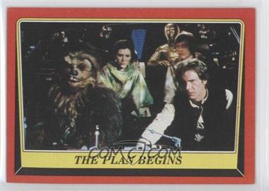 1983 Topps Star Wars: Return of the Jedi #67 - The Plan Begins