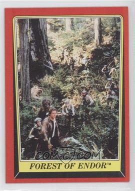 1983 Topps Star Wars: Return of the Jedi #68 - Forest of Endor