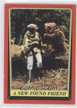 1983 Topps Star Wars: Return of the Jedi #72 - A New Found Friend