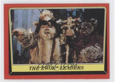 1983 Topps Star Wars: Return of the Jedi #84 - The Ewok Leaders