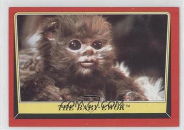 1983 Topps Star Wars: Return of the Jedi #88 - The Baby Ewok