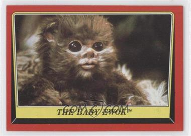 1983 Topps Star Wars: Return of the Jedi #88 - The Baby Ewok