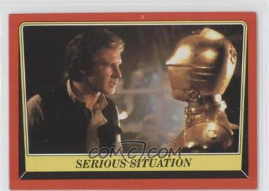 1983 Topps Star Wars: Return of the Jedi #93 - Serious Situation