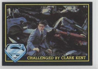1983 Topps Superman III - [Base] #60 - Challenged By Clark Kent