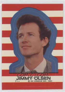 1983 Topps Superman III Stickers #7 - Jimmy Olsen