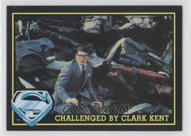 1983 Topps Superman III #60 - Challenged By Clark Kent