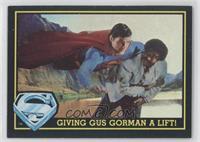 Giving Gus Gorman A Lift