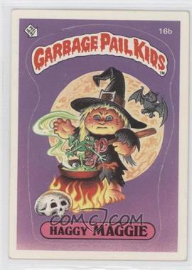 1985-88 Topps Garbage Pail Kids [???] #16b - [Missing]