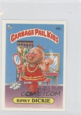 1985-88 Topps Garbage Pail Kids [???] #20b - Kinky Dickie