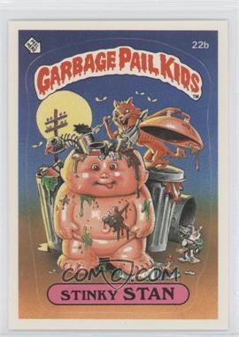 1985-88 Topps Garbage Pail Kids [???] #22b - Stinky Stan