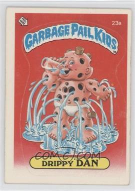 1985-88 Topps Garbage Pail Kids [???] #23a - [Missing]