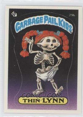1985-88 Topps Garbage Pail Kids [???] #29b - Thin Lynn