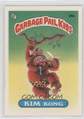 1985-88 Topps Garbage Pail Kids [???] #34a - Kim Kong