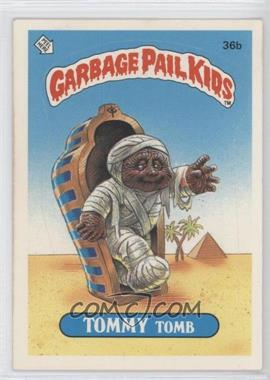 1985-88 Topps Garbage Pail Kids [???] #36b - Tommy Tomb