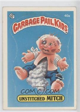 1985-88 Topps Garbage Pail Kids [???] #40a - [Missing]
