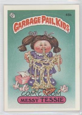 1985-88 Topps Garbage Pail Kids [???] #45b.2 - Messy Tessie (Two Star Back)