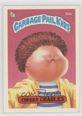 1985-88 Topps Garbage Pail Kids [???] #65b.2 - Cheeky Charles (two star back)