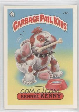 1985-88 Topps Garbage Pail Kids [???] #74b - Kennel Kenny