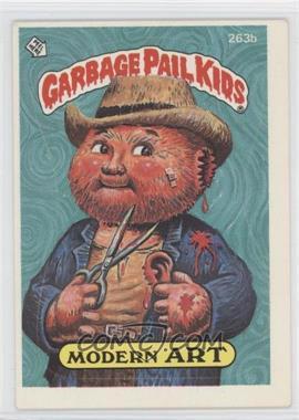 1985-88 Topps Garbage Pail Kids #263b - [Missing]