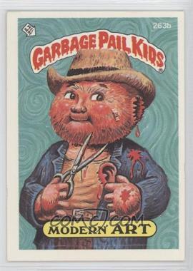1985-88 Topps Garbage Pail Kids #263b.2 - Modern Art (two star back)