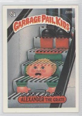 1985-88 Topps Garbage Pail Kids #289b.3 - [Missing] (two star back, white card number)