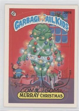 1985-88 Topps Garbage Pail Kids #297 - [Missing]