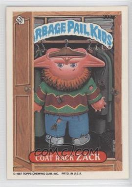 1985-88 Topps Garbage Pail Kids #303B - Coat Rack Zack
