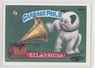 1985-88 Topps Garbage Pail Kids #308B.2 - Ella P. Record